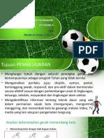 materi sepakbola