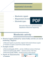 Biopotential electrodes 1