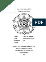Laporan Praktikum PSG-Biokimia