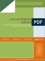 DERECHO LABORAL 1ER PARCIAL