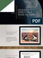 Geologia - Estrutura e Idade da Terra