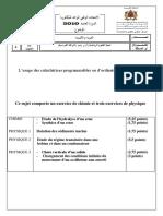 examen-national-physique-chimie-sciences-maths-2010-normale-sujet