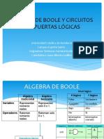 ALGEBRA DE BOOLE Y CIRCUITOS COMPUERTAS LÓGICAS UNICAH I Periodo 2020 (1)