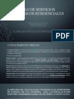 CALCULO DE CARGAS ELECTRICAS RESIDENCIALES