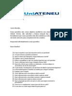 Exercícios para a prova global - Comunicação Atualizado (1)