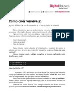 Conceito Como criar variáveis.pdf