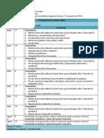 Cronograma Clases Online 5° y 6° Básico