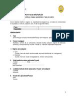 1.-  ESQUEMA DE PROYECTO DE INVESTIGACIÓN 2014