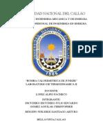 Informe Bomba Calorimetrica Junker