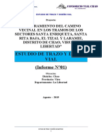 ESTUDIO DE TRAZO Y DISEÑO VIAL