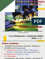 CLASE 2. FUENTES LUMINOSAS Y NIVELES DE ILUMINANCIA