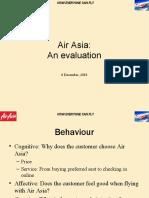 AirAsia an Evaluation
