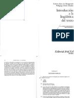 Estudio autónomo. De Beaugrande y Dressler (1997). Nociones básicas