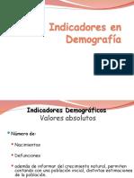 Demografía 4 Indicadores, IM, RD, Lexis