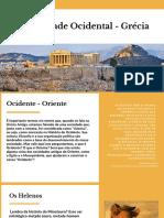 Antiguidade Ocidental - Grécia