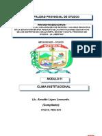 CLIMA INSTITUCIONAL Y AUTOESTIMA