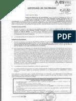 certificado factibilidad ESC. MEXICO