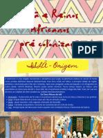 Reinos Africanos pré colonização