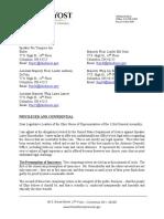 AG Yost Letter on Householder Removal