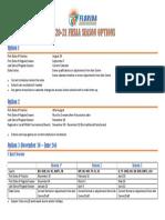 FHSAA 2020-21 Season Options