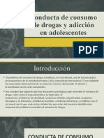 Conducta de consumo de drogas y adicción
