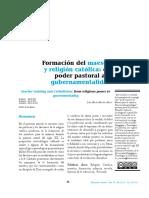 Poder pastoral y el maestro
