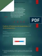 Explicar el fenómeno del magnetismo y el electromagnetismo.pptx