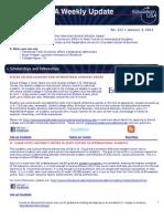 EdUSA Weekly Update No 212 -- 03 JAN 2010