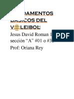 trabajo Jesus D Roman Z 1ero A No1