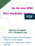 Creación de una Wiki
