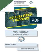 SESION DE ENFERMERIA 2 TEST DE COOPER