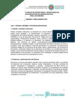 SECRETARIOS - SECUNDARIA - 2020
