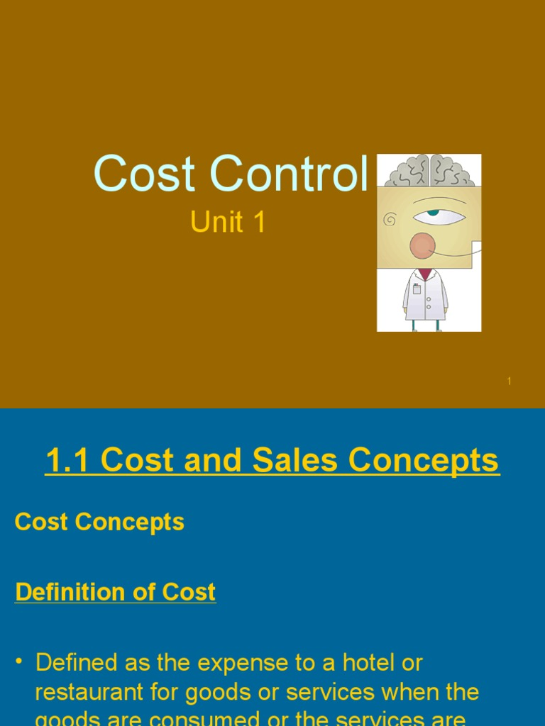 introduction to cost control Introduction of production and operation management  introduction of production and operation management  cost estimation and control (e).