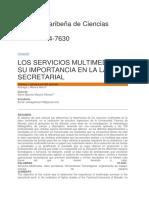2019  LOS SERVICIOS MULTIMEDIA Y SU IMPORTANCIA EN LA LABOR SECRETARIAL