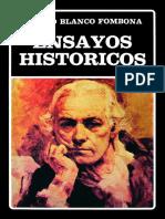 Ensayos Historicos - Rufino Blanco Fombona
