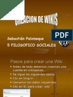 Creacion de Wiki