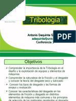 Tribología conferencia 1 DAQUINTA