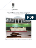 Settlement of Islamic Banking Islamic Economics and Review Decision of the High Court of Religion in Indonesia