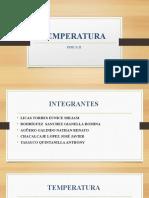 Temperatura y Energia Cinetica Fisica II