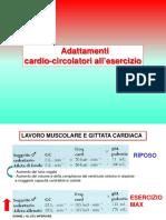 Lezione 5 adattamenti cardiaci all'esercizio