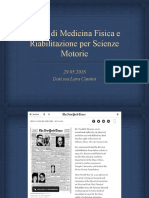 Lezione 29.05.18 Scienze Motorie
