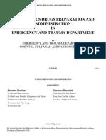 Intravenous Drug Preparation and Administration  EMTS Johore