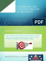 ESTUDIO TECNICO DE UNA INSTALACION ELECTRICA DE UN
