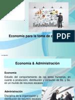 Economía para toma de decisiones