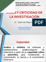3-S-RIGOR Y CRITICIDAD DE LA INVESTIGACIÓN.pptx