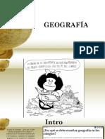 GEOGRAFIA Primera Sesion