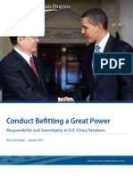 Conduct Befitting a Great Power