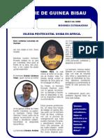 INFORME MISIONERO DE GUINEA BISSAU - ABRIL 5 2008