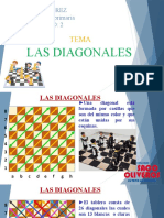 1RO - SEMANA 02 - UNIDAD 2 - AJEDREZ Tema 2 Las Diagonales