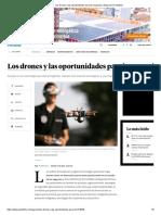 Los drones y las oportunidades para los negocios _ Negocios _ Portafolio